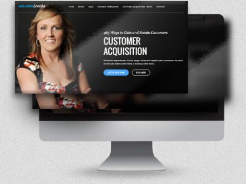 Amanda Bracks Webdesign