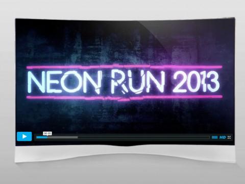 "Team BlueFit ""Sydney Neon Run 2013"""